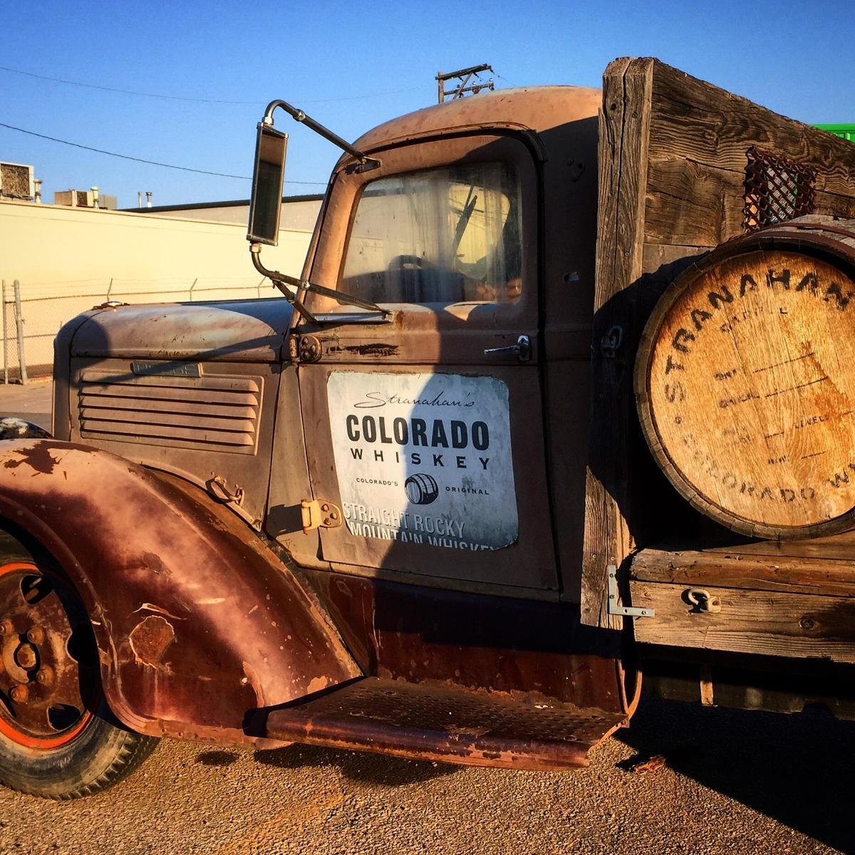 Stranahan's Colorado Whiskey truck