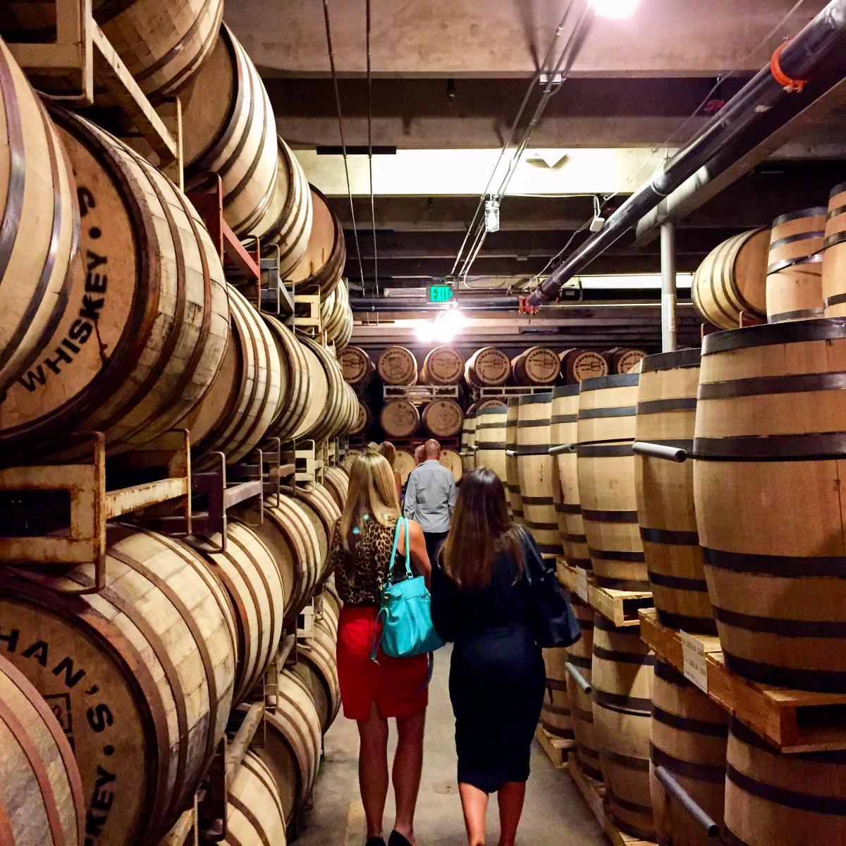 Stranahan's Colorado Whiskey barrels