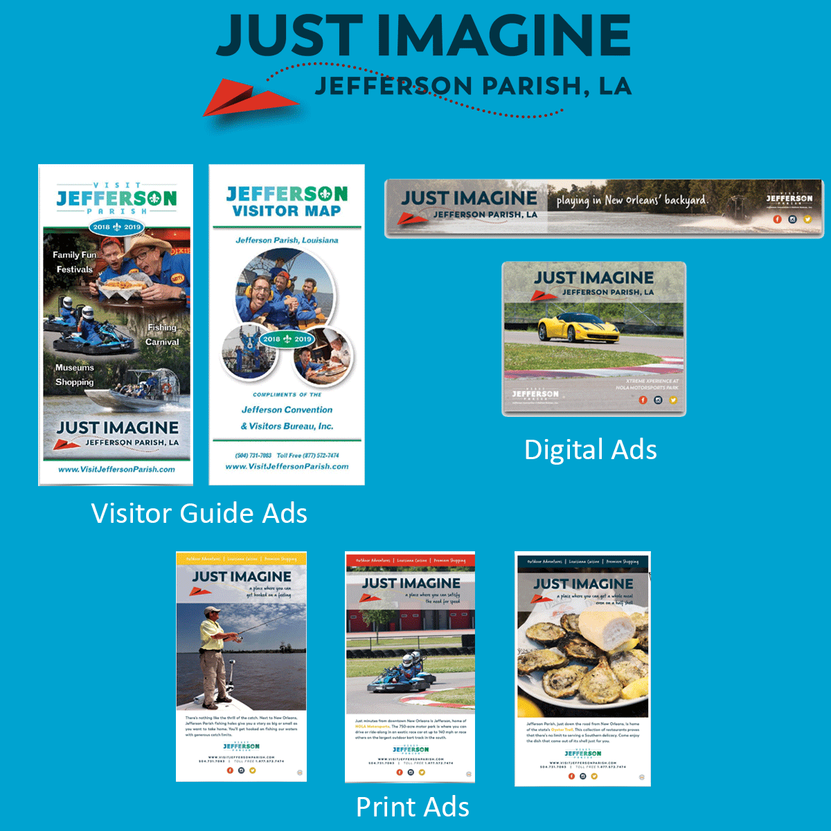 Just Imagine ad graphic