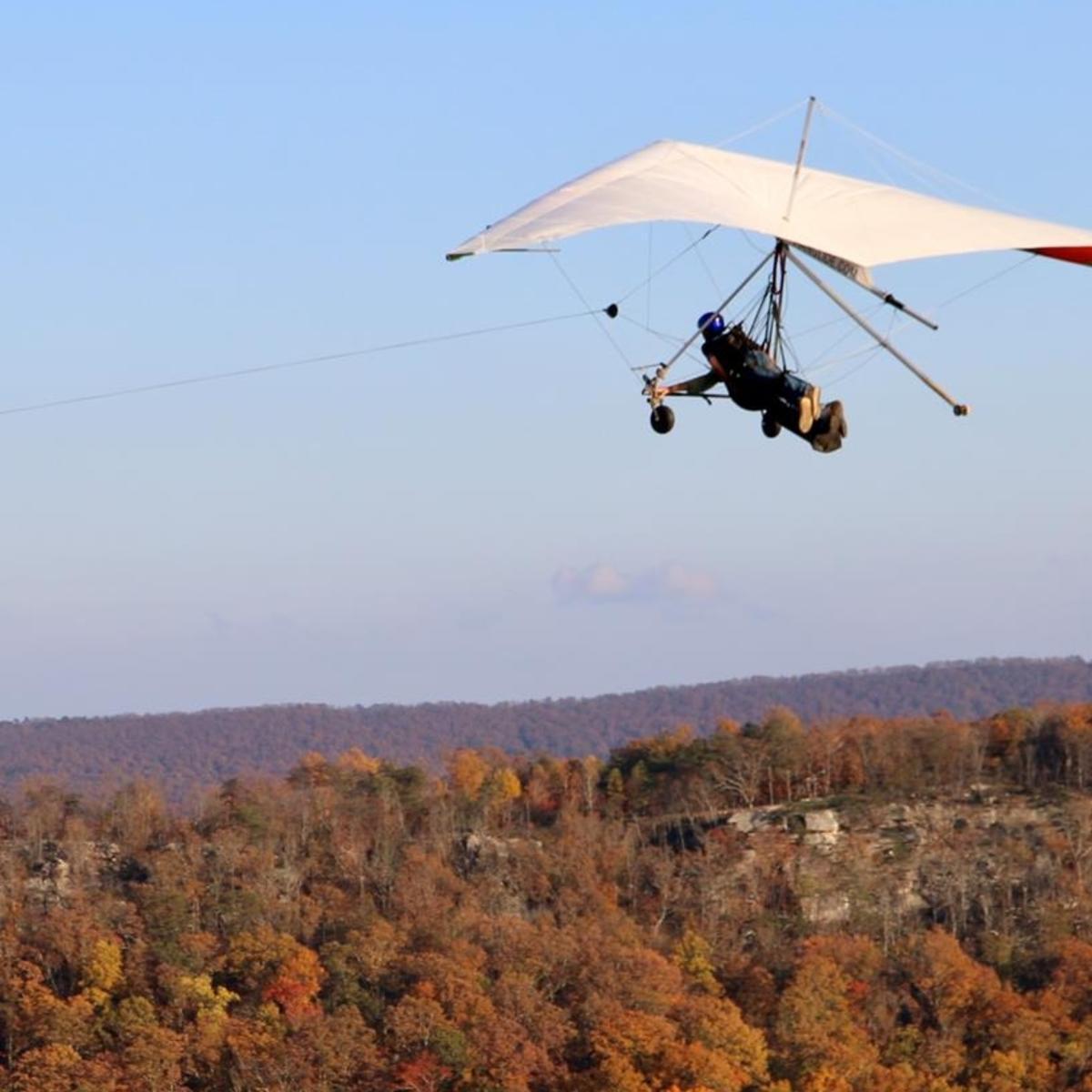 Lookout Mountain Hang Gliding_Fall