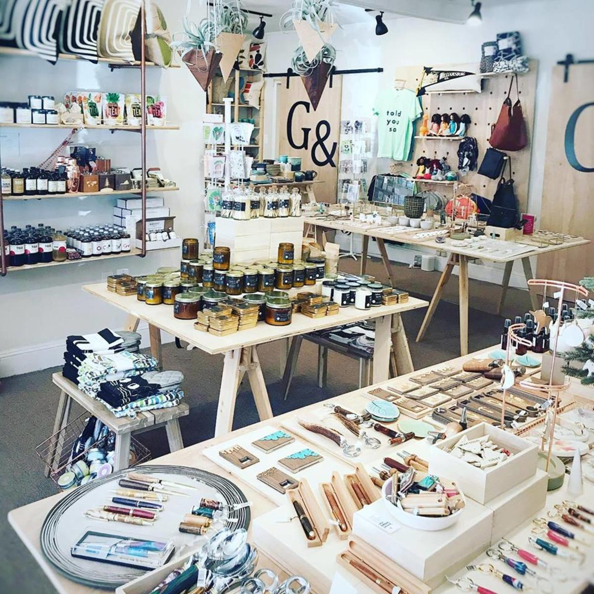 Selection of handmade gifts from Gift &Gather