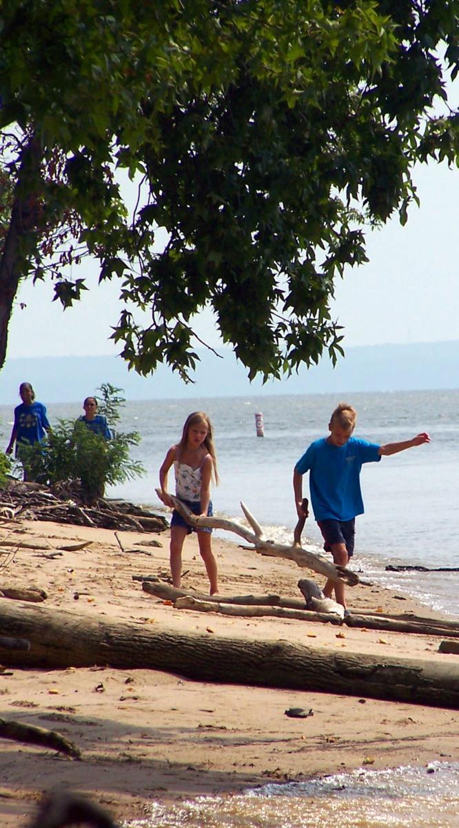 Leesylvania Family on Shore