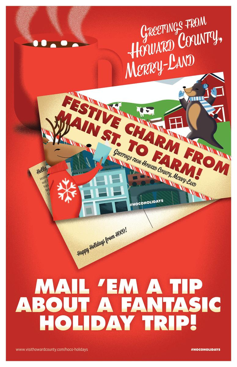 Send your family friends holiday greetings from howard county hoco holiday greetings instructions m4hsunfo