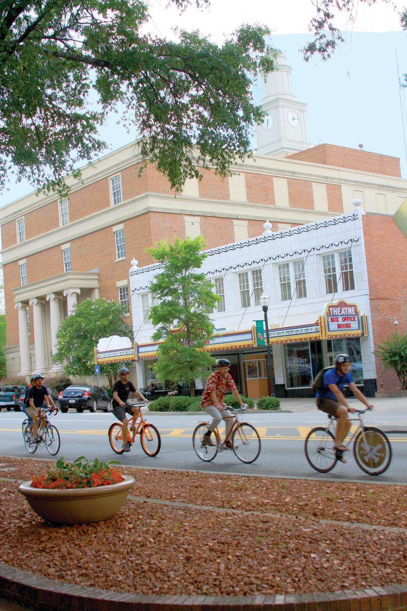 Bikers Downtown Milledgeville
