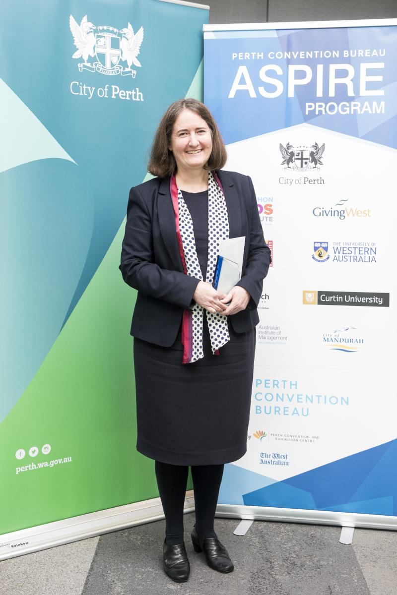 Dr Sally Male - 2018 City of Perth Aspire Winner