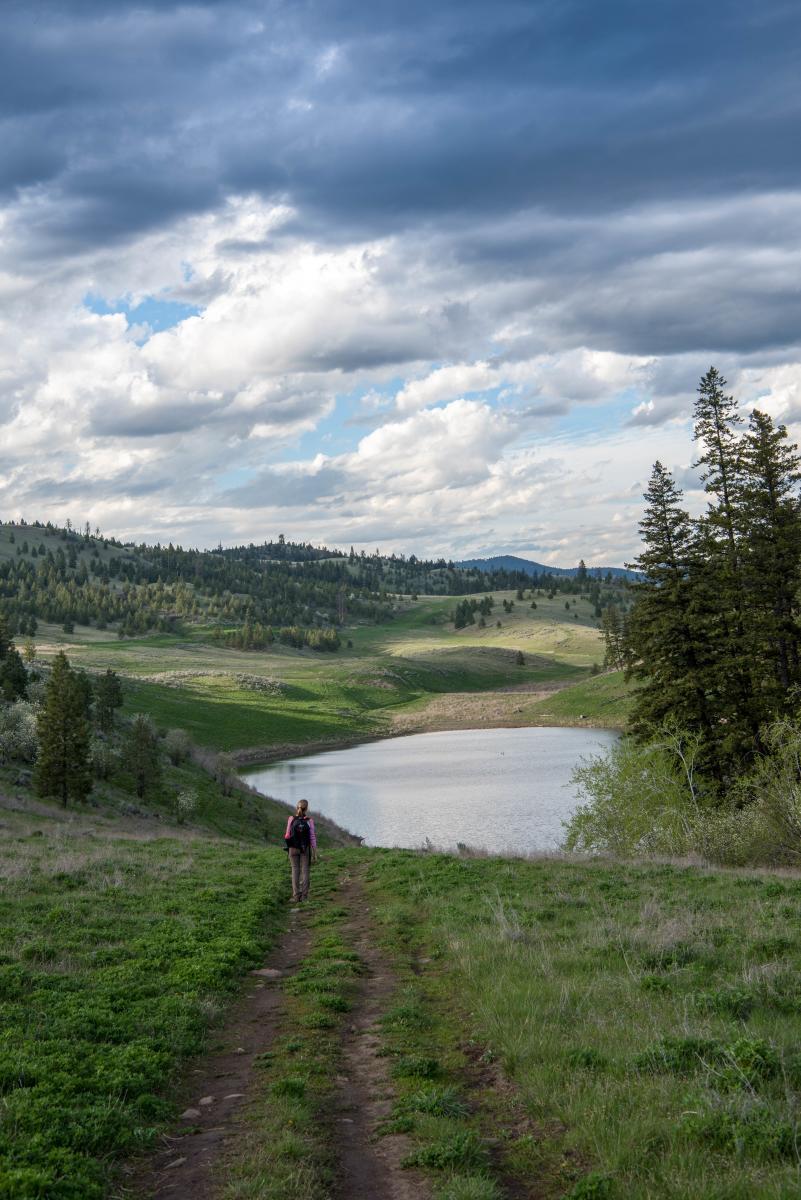 Deep Lake Hiking
