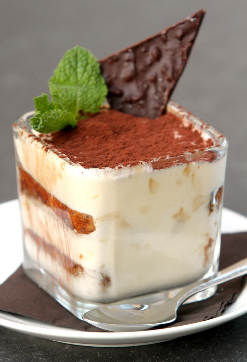 Tiramisu from Terza in Rochester, MN