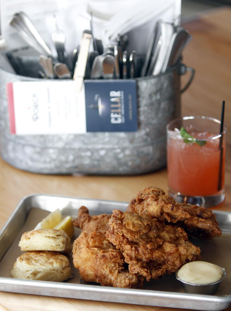 Proper Fried Chicken at Porch and Cellar in Rochester, MN