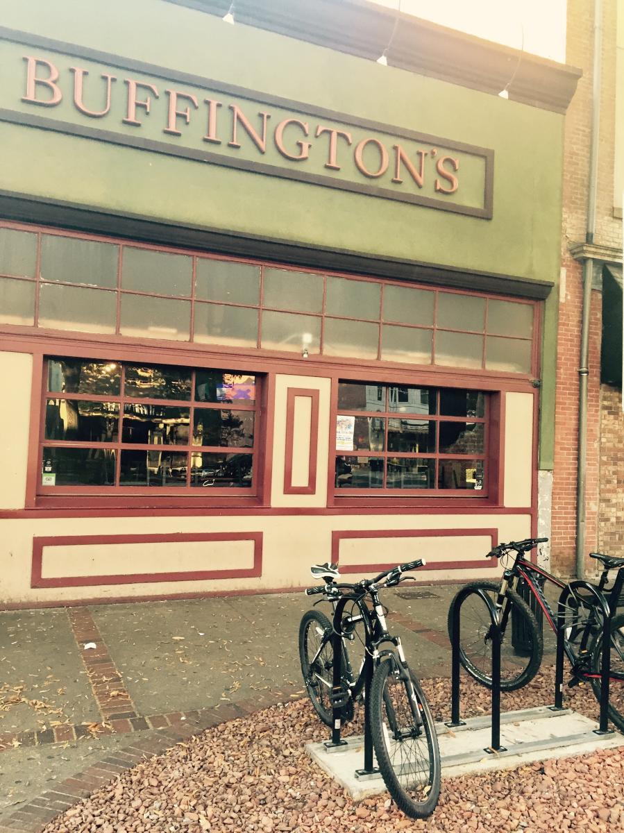 Bike at Buffingtons