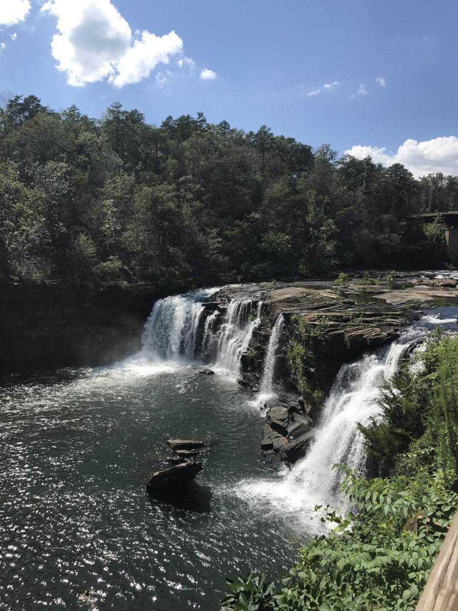 Carley's Adventures: Little River Falls at Little River Canyon