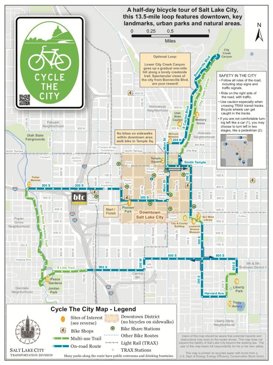 Salt Lake Bicycle Tour
