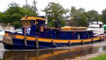 One of the oldest working tugboats in America will join the Waterford Tugboat Roundup September 7-8-9, the New York State Canal Corporation announced.