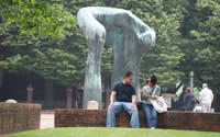 Large Arch by Henry Moore