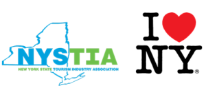 NYSTIA I LOVE NEW YORK logo