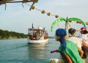 Aug. 8 is Pirate Day aboard all Mid-Lakes Navigation cruises sailing Skaneateles Lake and the Erie Canal. Be on the lookout for takeovers, treasure heists and tons of water play.