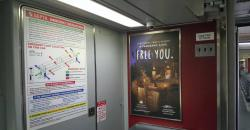 2017 Summer Marketing Campaign -  Transit - NJT - Interior Rail Card - The Lodge at Woodloch