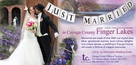 Weddings in Cayuga advertisement