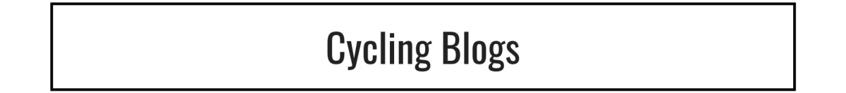 Cycling Blogs Text Header