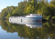 The historic canal motorship Day Peckinpaugh kicks off its 500-mile 2009 Quadricentennial Legacy Voyage at Matton Shipyard in Cohoes on Saturday and Sunday, August 1-2.