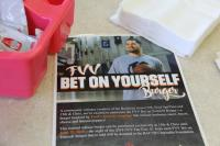Bet on Yourself Burger poster