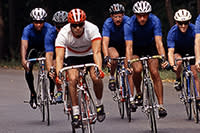 Group of Bicyclist