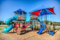A free playground for kids in the Golden isles of Georgia