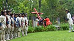 Battle Re-enactment: Montcalm's Cross