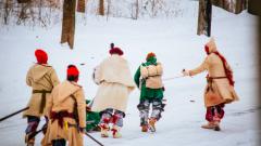 Battle Re-enactment: 1758 Battle on Snowshoes