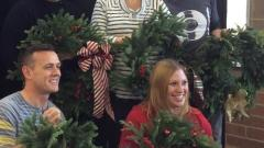Fresh Conifer Wreath