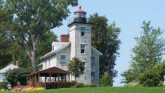 Closing Day at the Sodus Bay Lighthouse Museum