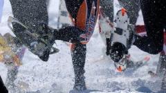 Stone Wall Challenge Snow Shoe Race