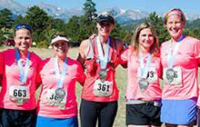 Women Race Group - Rocky Mountain Half Marathon