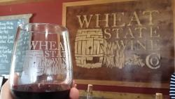 Wine sample Wheat State Wine Co - Winfield