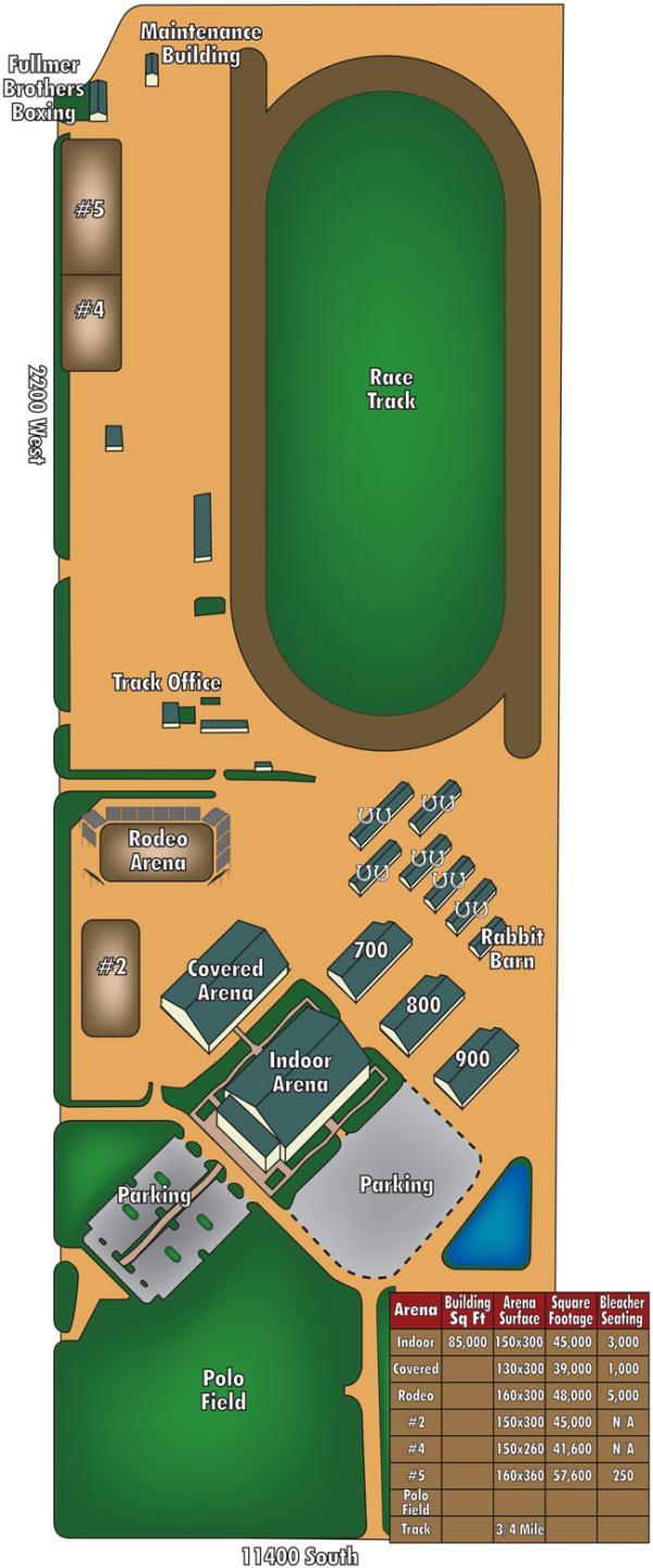 Equestrian Park Map
