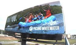 2017 Summer Marketing Campaign - Digital Billboard - Pocono Whitewater