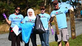 Shoreline Cleanup through Vancouver Aquarium