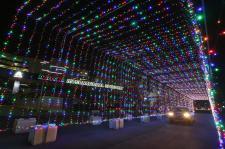Magic of Lights holiday display at Daytona International Speedway