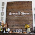 Board and Brush