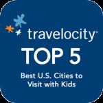 Travelocity Top 5 Logo