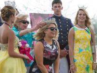 Crowning at NC Azalea Festival