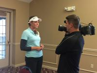 Daniell Downey Golfer interviewed