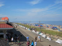 View of the Rehoboth Beach Boardwalk