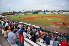 Daytona Tortugas baseball game