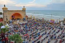 A wedding at the Daytona Beach Bandshell