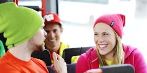 Ungdom i buss