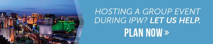 Hosting a group event during IPW? Let us help. Click to plan now.