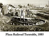 Plaza Railroad Turntable 1885