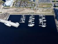 Aerial of Northern Riverfront Progress