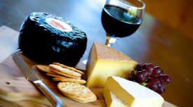 Wine & Cheese Package at Serenity Springs