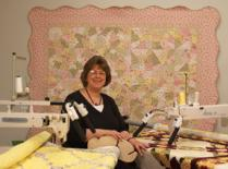 Saturday, March 19 at 1pm at the Great Lakes Seaway Trail Quilt Show hear Judy Allen, author of The Art of Feather Quilting, speak on her signature style of quilting that creates graceful curved crosshatching; undulating lines, plumes and paisleys; and Victorian-inspired feather patterns for quilts and wearable art.